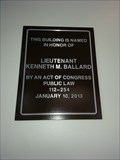 Image for Obama Designates the Lt. Kenneth M. Ballard Memorial Post Office