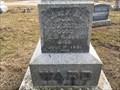 Image for George F. Ward - Riverside Cemetery, Attica, IN