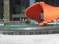 Image for Orange sculpture fountain - Los Angeles, CA