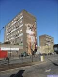 Image for Giant Dog Mural - Chrisp Street, London, UK