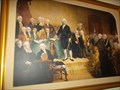 Image for George Washington painting - WDW, FL
