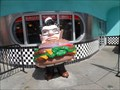 Image for Mel's Diner Waiter and Double Cheeseburger  -  Los Angeles, CA