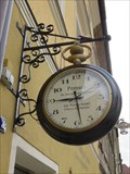 Image for Uhren-Pemsel signboard clock - Sulzbach-Rosenberg, BY, Germany