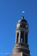 Image for Harrietstown Town Hall Clock - Harrietstown, NY