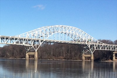 Thomas J  Hatem Memorial Bridge - Havre de Grace, MD - Truss Bridges
