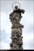 Image for Immaculata on Marian Column / Immaculata na mariánském sloupu - Velvary (Central Bohemia)