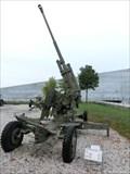 Image for Soviet artillery guns of WWII, Hrabyne, Czech Republic