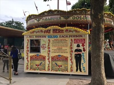 Carousel Ride Prices, London, England
