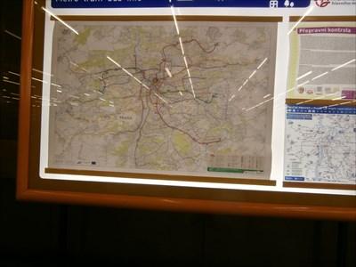 You Are Here - Namesti Republiky Prague Metro station