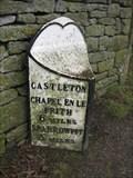 Image for Castleton Milestone - Buxton Road, Castleton, Derbyshire, UK