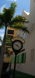 Image for Town Clock Philipsburg Catholic Church St. Marten