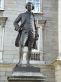 Image for Edmund Burke Statue - Trinity College, Dublin, Ireland
