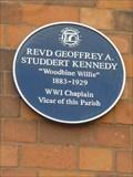 Image for Rev GeoffreyA Studdert Kennedy, Worcester, Worcestershire, England
