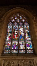 Image for Stained Glass Windows - St Peter - Church Langton, Leicestershire