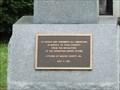 Image for Macon County GA Veteran's Memorial -- Oglethorpe GA