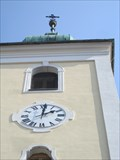 Image for Hodiny na vezi kostela - Veverská Bityska, Czech Republic