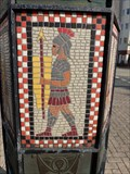Image for Millennium Sculpture - Mosaics - LLandudno, Wales. Great Britain.