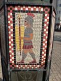 Image for Millennium Sculpture - Mosaics - LLandudno, Wales. Great Britain.
