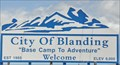 "Image for City of Blanding ~ ""Base Camp to Adventure"""