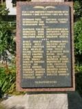 Image for World War II Memorial - Otrokovice, Czech Republic