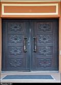 Image for Hlavní dvere krematoria Pardubice / Main door of Parubice krematorium (East Bohemia)