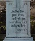Image for Holy Bible - Marek. 10.14. - Tvarožná, Czech Republic