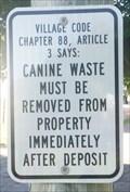 Image for Canine wastes - Endicott, NY