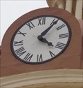 Image for Beckham County Courthouse Clock - Sayre, Oklahoma, USA.