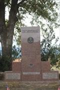 Image for JFK Memorial -- US 259 at OK SH 63, Big Cedar OK