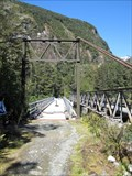 Image for Tutoko Suspension Bridge - Milford Highway - New Zealand