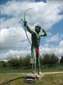 Image for Chief Kesis Statue - Champaign, IL