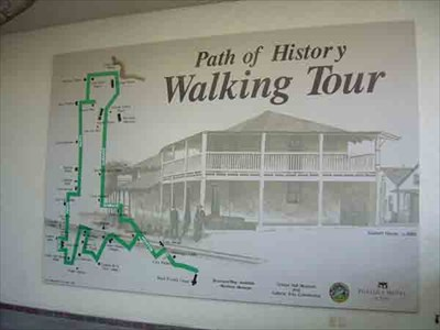 Path Of History Map Monterey California You Are Here Maps On Waymarking Com