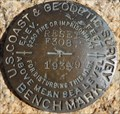 Image for U.S. Coast & Geodetic Survey F308 RESET Benchmark - Santa Ysabel, CA