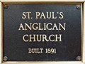 Image for St. Paul's Anglican Church - 1891 - Golden, BC