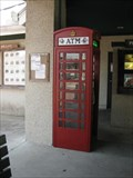 Image for Old Jail ATM Red Telephone Box - St Augustine, FL