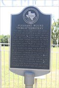 """Image for Pleasant Mound """"Public"""" Cemetery"""
