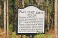 Image for Paul Eliot Green - E. of Lillington, NC