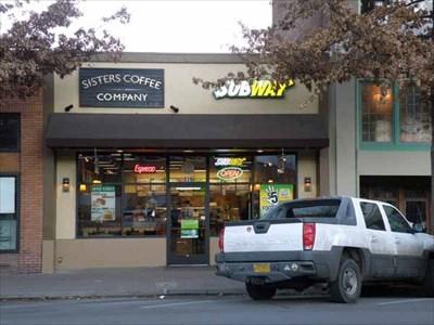 Downtown bend oregon subway restaurants on waymarking com