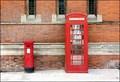 Image for Waterside phone box, Stratford upon Avon, UK