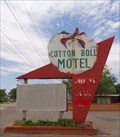 Image for Historic Route 66 - Cotton Boll Motel - Canute, Oklahoma, USA.