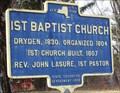 Image for 1st Baptist Church - Etna, NY