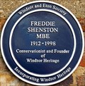 Image for Freddie Shenston MBE - St Alban's Street, Windsor, UK