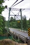 Image for The Yale Suspension Bridge
