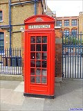 Image for Red Telephone Box - Lauriston Road, London, UK