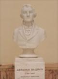 Image for Abraham Baldwin -- GA State Capitol, 1st Floor, Atlanta GA