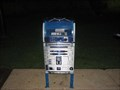 Image for (LEGACY) R2D2 Mailbox - Tarrant County Courthouse, Fort Worth, TX