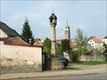 Image for Gotická boží muka /  Gothic wayside shrine, Telc, Czech republic
