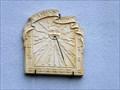 Image for Little sundial at Place de la Porte de Belfort, Neuf-Brisach - Alsace / France