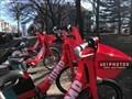 Image for JUMP Bike Share at Camp Street and Doyle Avenue - Providence, Rhode Island USA