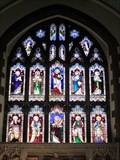 Image for Christ & Saints, St Collens Church, Llangollen, Denbighshire, Wales, UK